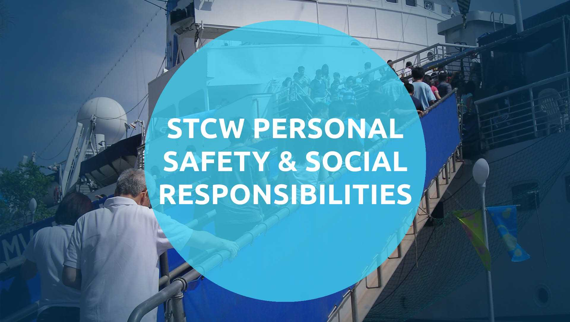 Personal Safety and Social Responsibility